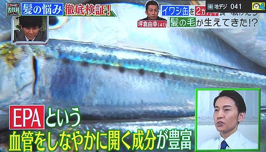イワシや中トロの魚の脂はEPAが含まれている