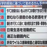 日本人のための癌予防法