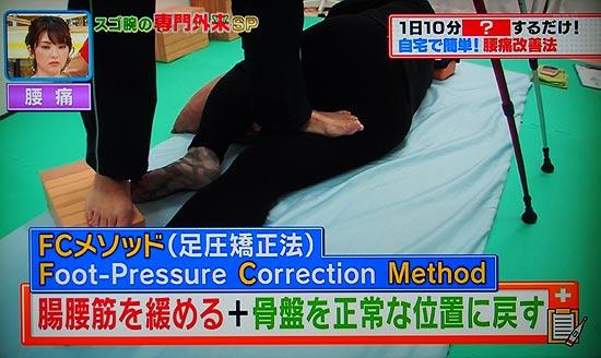 田島先生の整骨院ではFCメソッドで腸腰筋を緩める