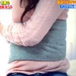 寝返り枕睡眠法。腹巻で腰痛が治る!