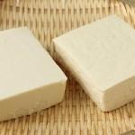 絹ごし豆腐より木綿の方がマグネシウムが多い
