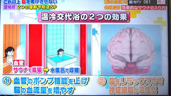 温冷交代浴の2つの効果